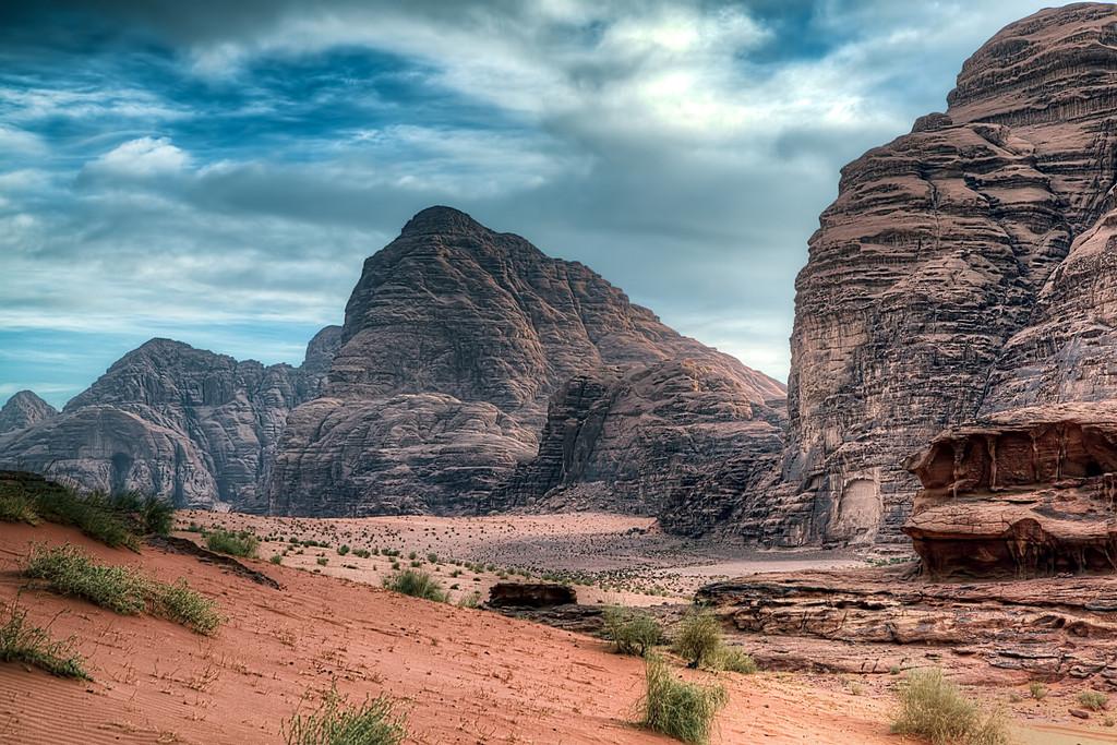 Waking up in Wadi Rum