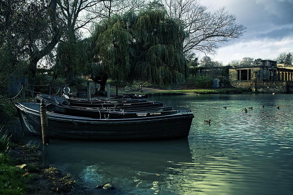 Loggia on the lake