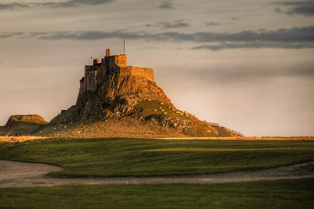 The golden castle