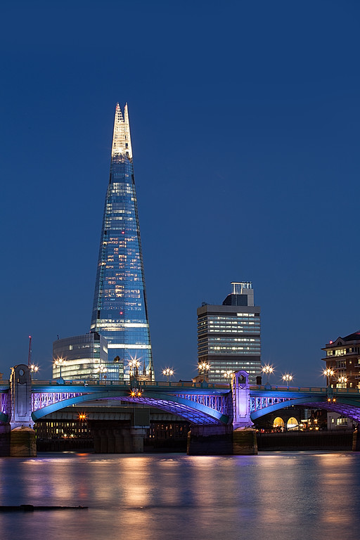Blue hour Shard