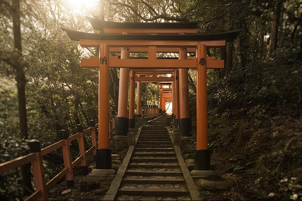 Torii steps