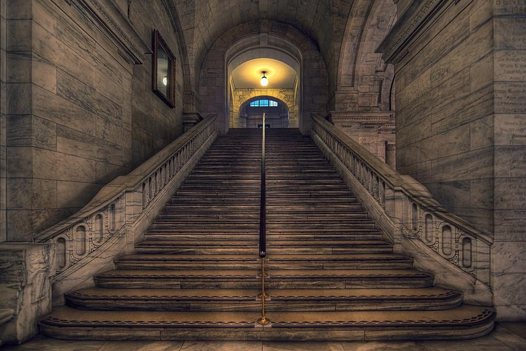 Marbelous stairs