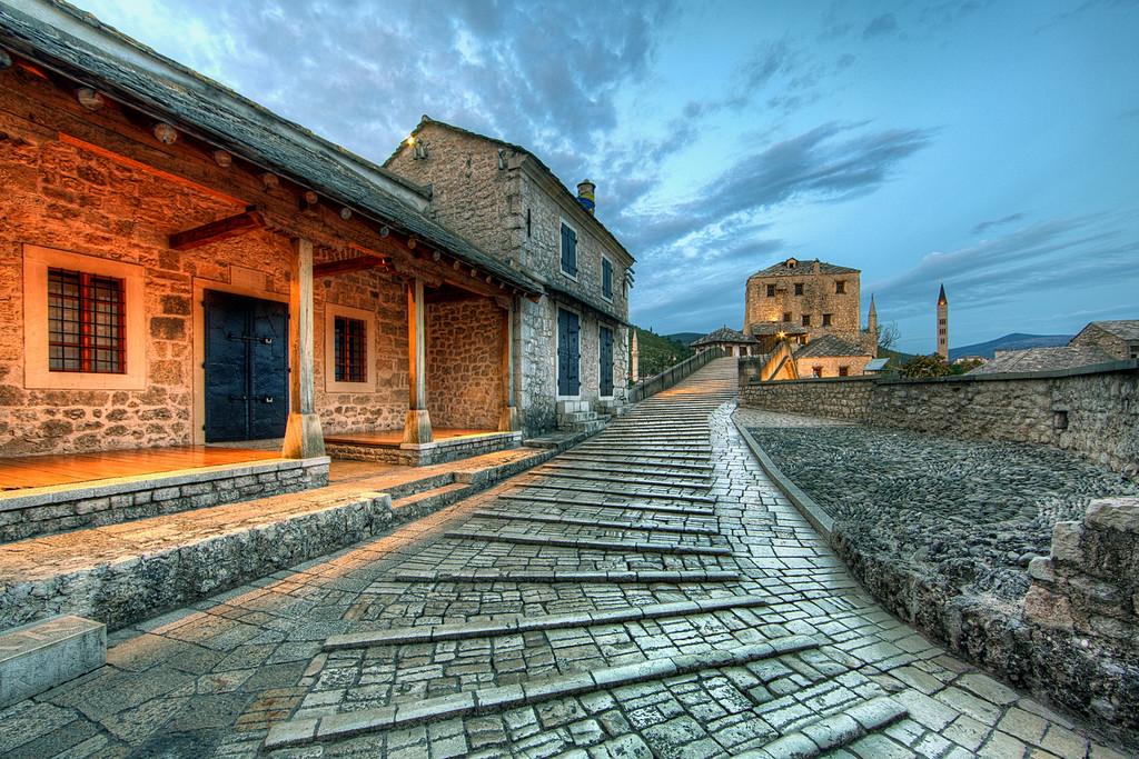 Stari Most steps