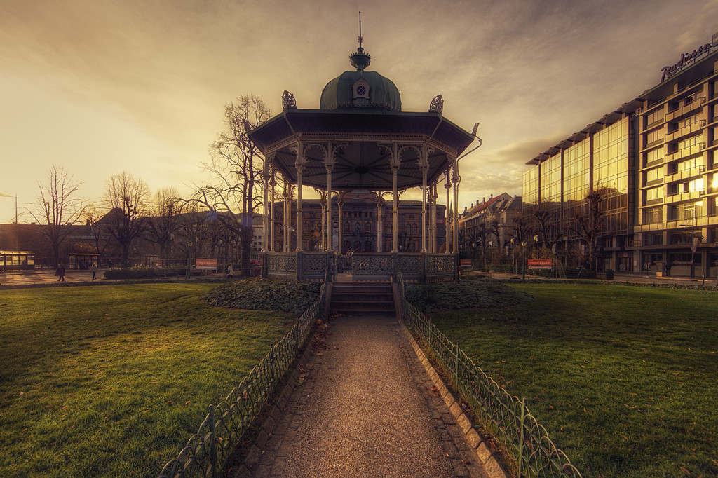 Bergen bandstand