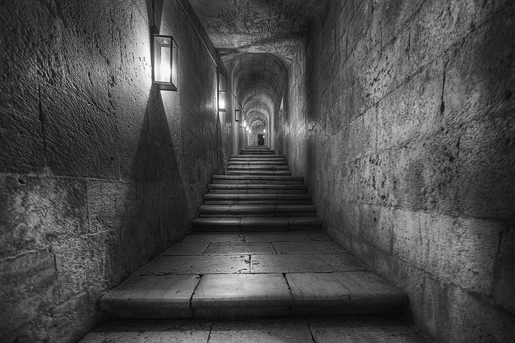 A secret stairway